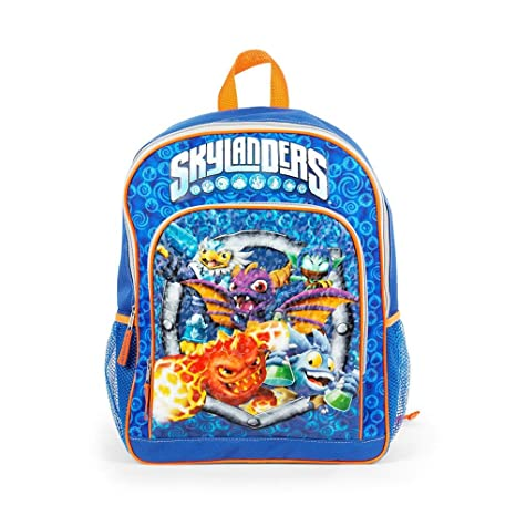 Amazon.com   Skylanders 16 inch Backpack with Side Mesh Pockets ... 81b24b4bb919f