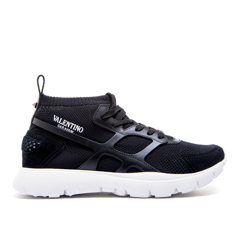 Valentino Garavani メンズ PY0S0A57GHB0NO ブラック ポリアミド 運動靴 B07BZH952T