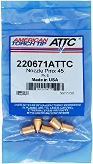 product image for American Torch Tip Part Number 220671 (Nozzle Pmx45 Pk 5)