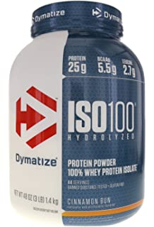 dymatize iso 100 whey isolate protein powder