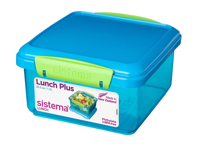 Sistema Lunch Plus - 1.2 L, Assorted Colours: Amazon.co.uk: Kitchen ...