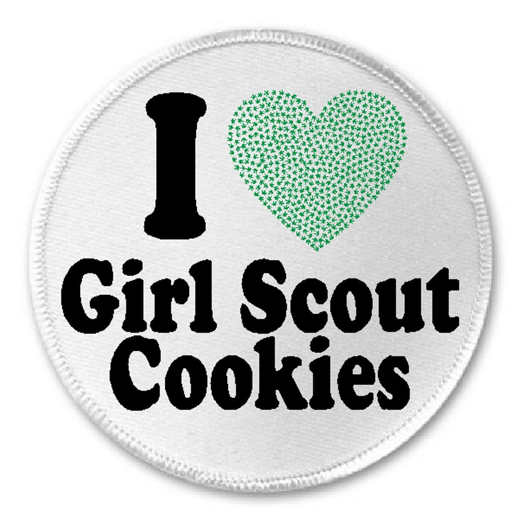Amazon I Love Girl Scout Cookies 3 Sew Iron On Patch