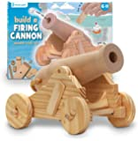 Wooden Cannon Craft Kit - Build Your Own Firing Cannon