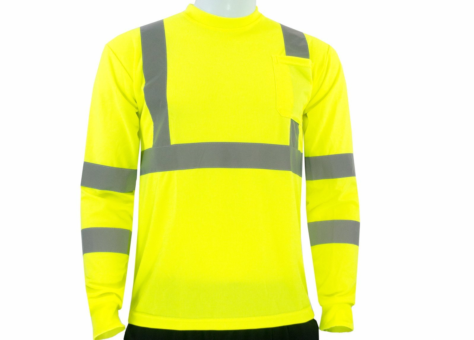 JORESTECH High visibility long sleeve yellow shirt 4XL