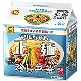 マルちゃん正麺 冷し中華 5食パック (118gX5P)×6袋