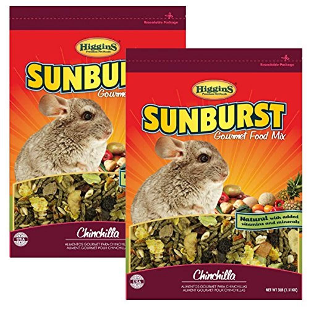Higgins Sunburst Gourmet Chinchilla Food Mix, 6 lbs.