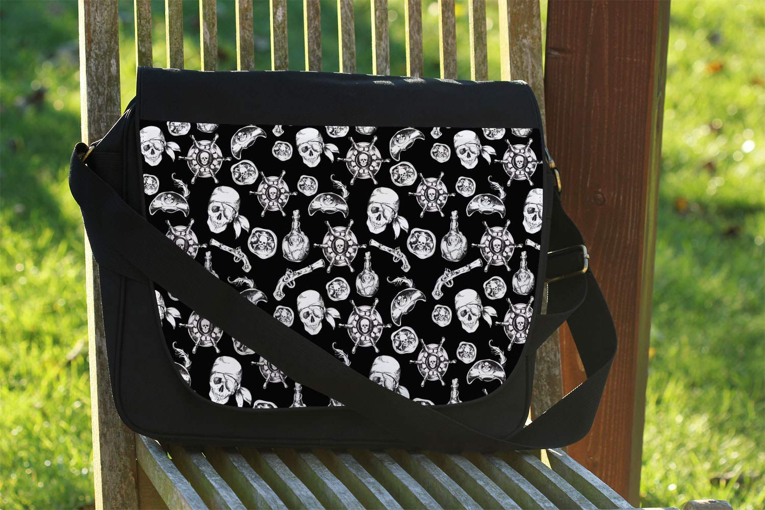 One Size Messenger Bag A Pirate Life Disney Inspired Messenger Bag