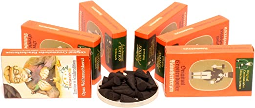 Crottendorfer – Conos de Incienso – 5 + 1 Pack de Ahorro ...