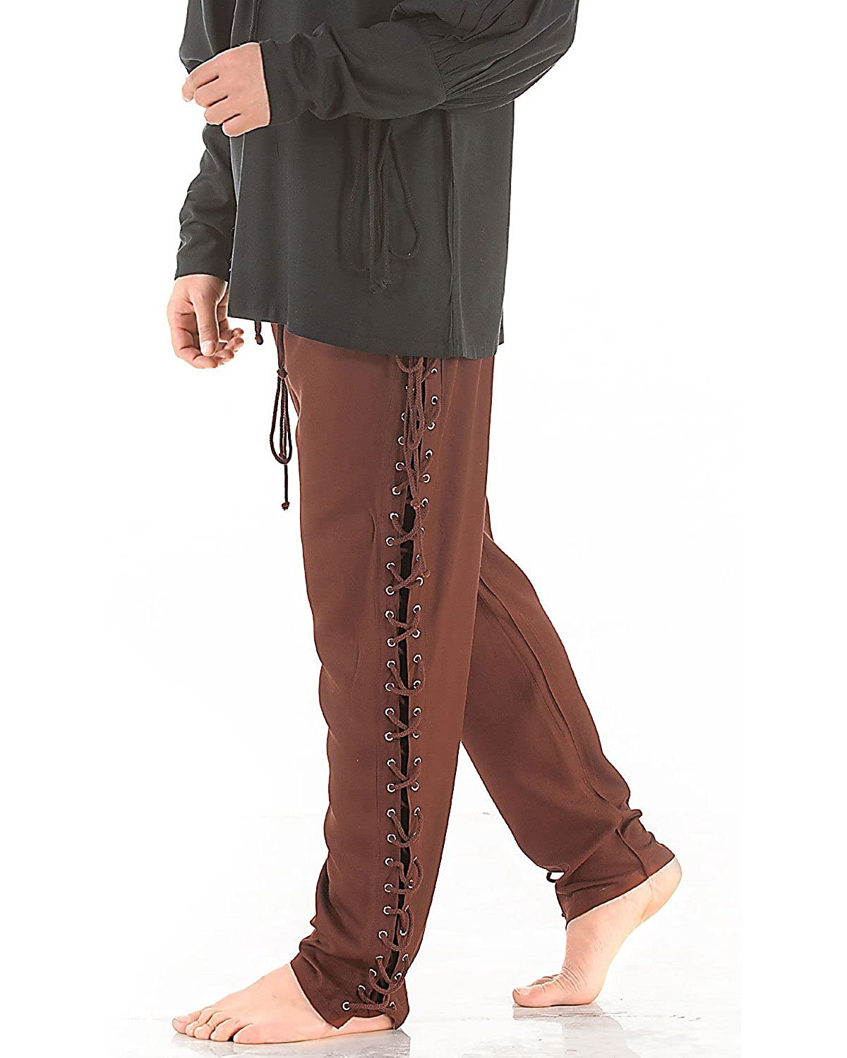 Renaissance Lace-Up Pants Costume