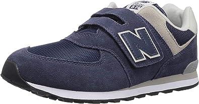 Representación papelería preposición  Amazon.com | New Balance Kids' 574 V1 Evergreen Hook and Loop Sneaker |  Sneakers