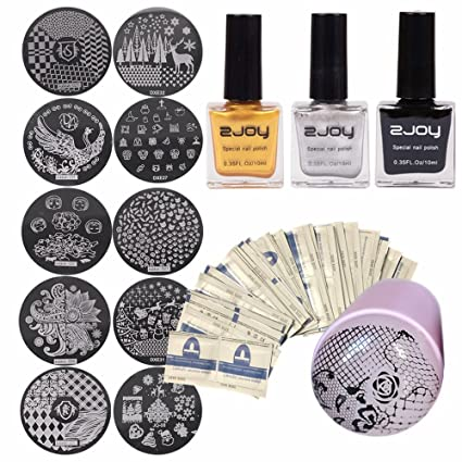 Beauty & Health Popular Brand Ur Sugar Clear Silicone Nail Stamper Set Matte Handle With Cap Scraper Manicure Stamping Kit Nail Art Tool Stamp Polish Nail Art