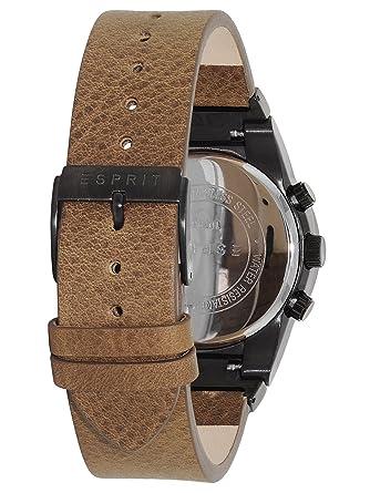ESPRIT ES107961003 Lederarmband Chronograph