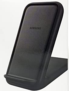 Samsung Official 15W 2019 Fast Charge 2.0 Wireless Charger Stand (Black)