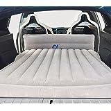Topfit Coche Cama de aire Aire acondicionado Viaje en automóvil Colchón inflable Vehículo SUV Asiento para el modelo S y el modelo X 5
