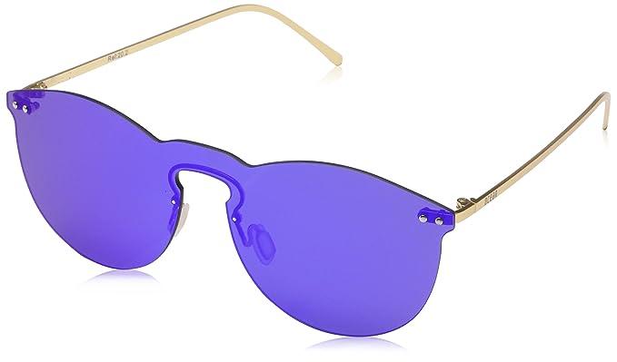 Ocean Eye, Gafas de Sol Unisex Adulto, Azul (BLU/Oro), 55 ...
