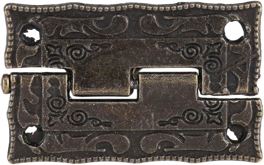 NEUFDAY 10 Pcs 0-270 Degr/é Antique Bronze Cabinet Bo/îte /À Bijoux Charni/ère Porte Meubles Bois Cas Outils Nouveau