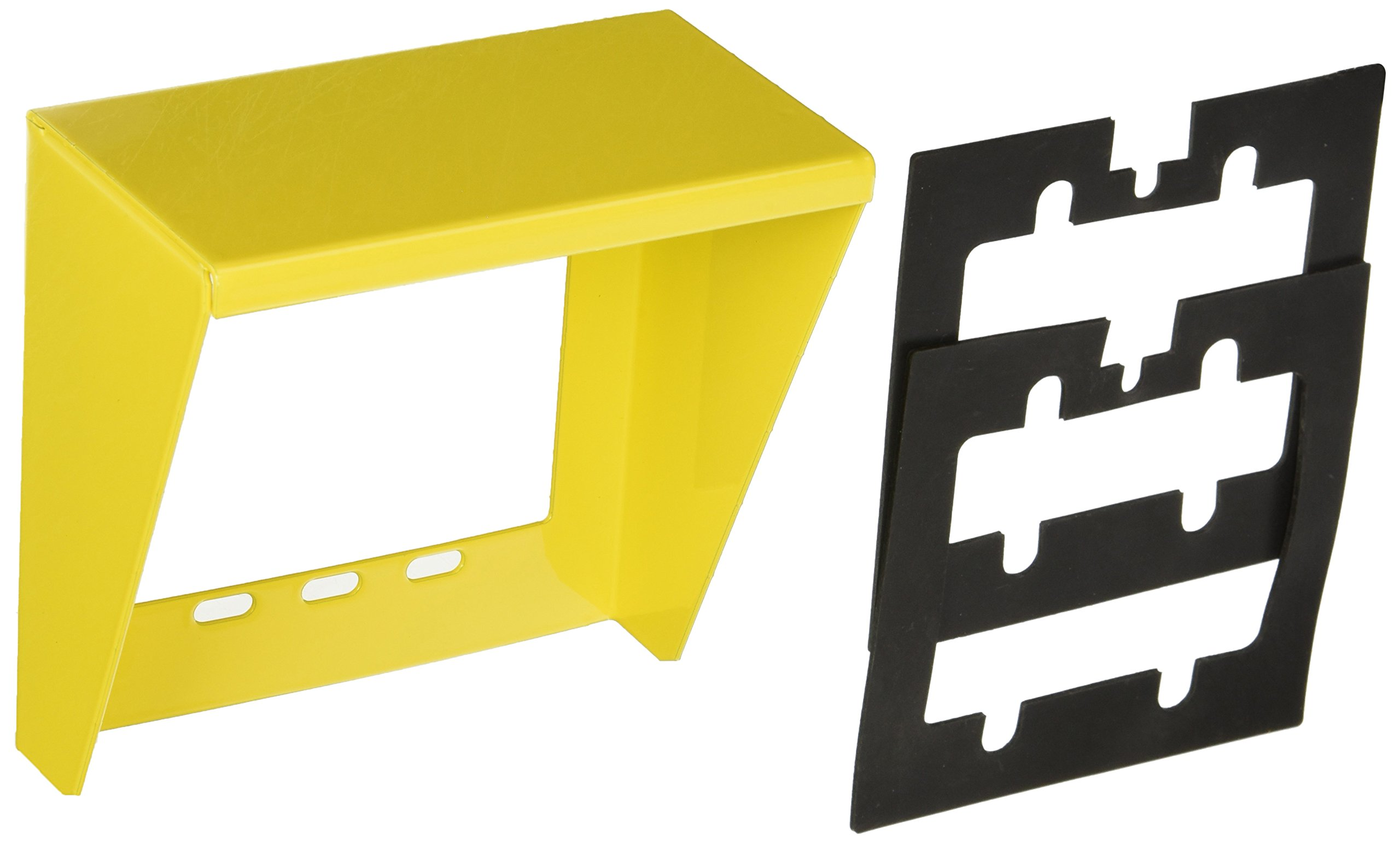 Valcom V-9910-Yel Doorbox Weather Guard for use with Valcom Doorplate Speakers, Yellow