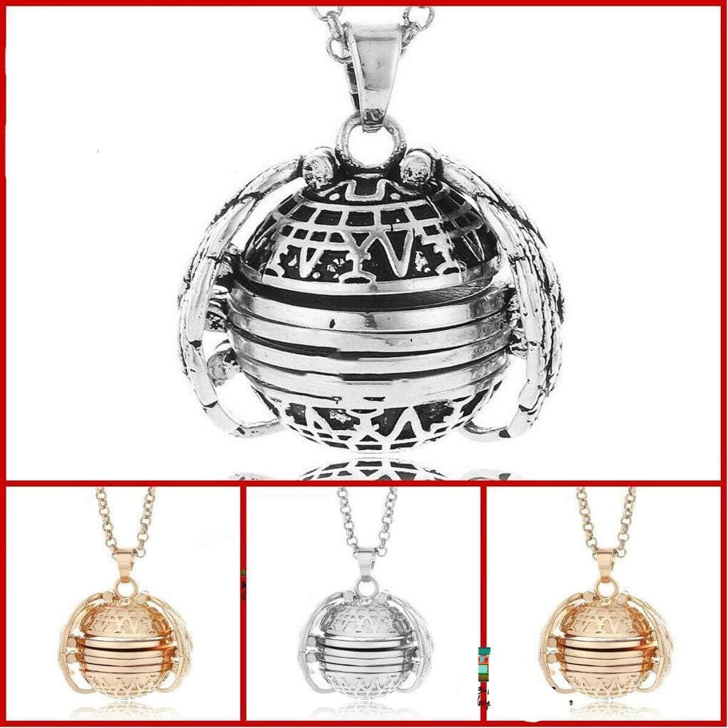 Amazon.com: Binory - Collar con medallón de fotos expandible ...