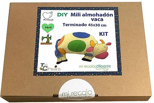 DIY Cojin infantil Vaca. miregalodiferente.es: Amazon.es ...