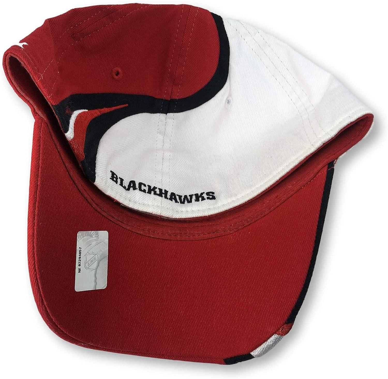 Reebok Chicago Blackhawks Flex Fit Adult Swirl Cap Hat S//M
