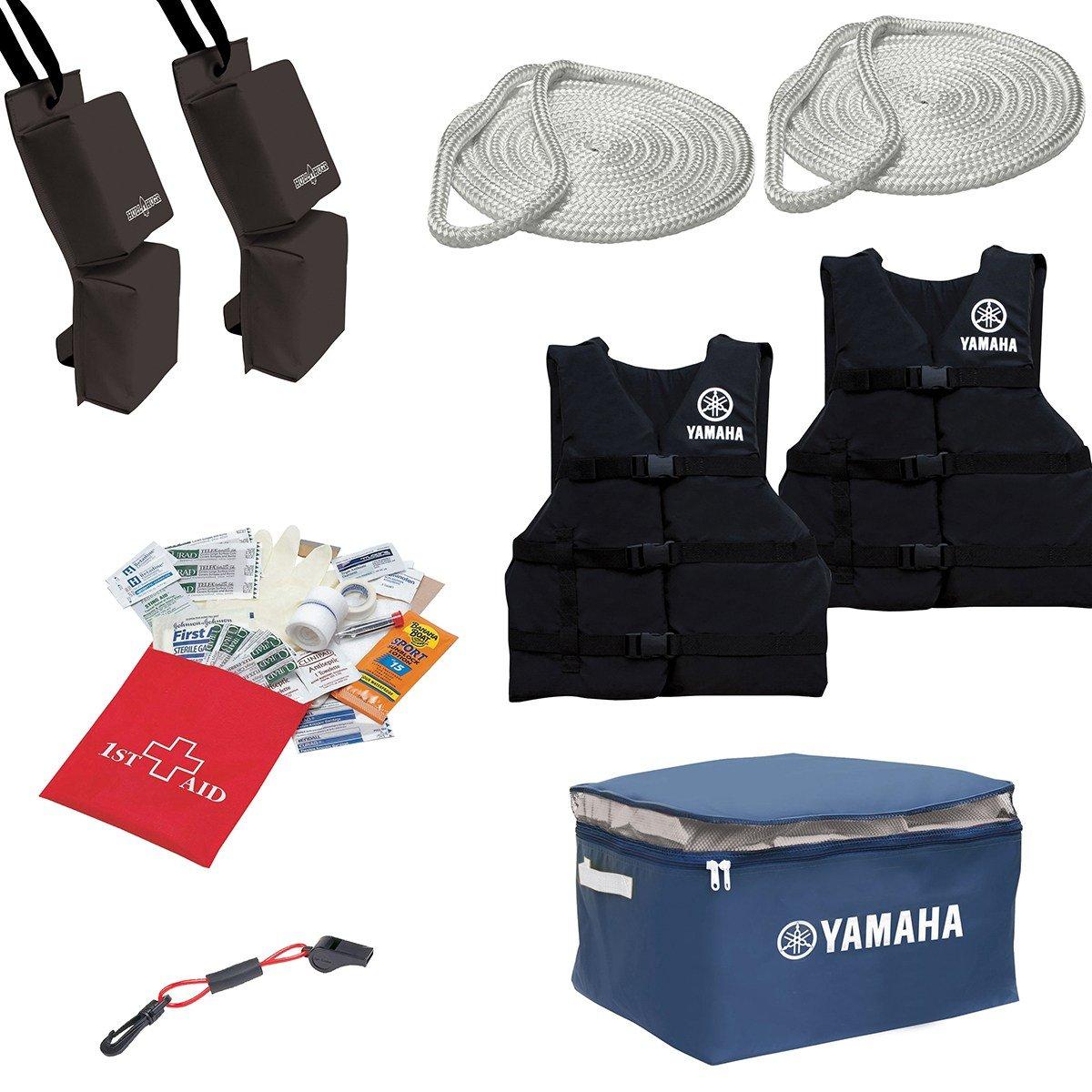 Yamaha OEM WaveRunner Starter Kit  Life Vests, Bumpes, Ropes, Storage Case   MWV-START-KT-08