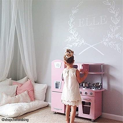 Amazon.com: Vinyl Removable DIY Decals Benvenuto Alla Nostra ...