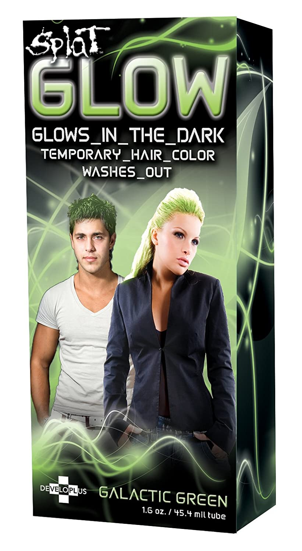 Amazon Splat Glow Galactic Green Glow In The Dark Temporary