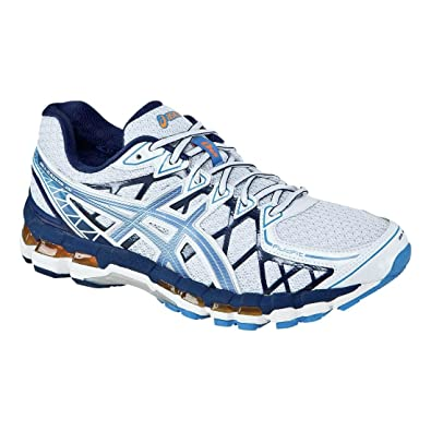 reputable site deb00 f4a07 ... australia mens asics gel kayano 20 white galaxy open white 7.5 ee 6b12c  ba781