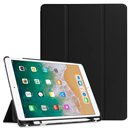 brand new 4c342 f0ce9 Fintie Case with Built-in Apple Pencil Holder for iPad Air 10.5