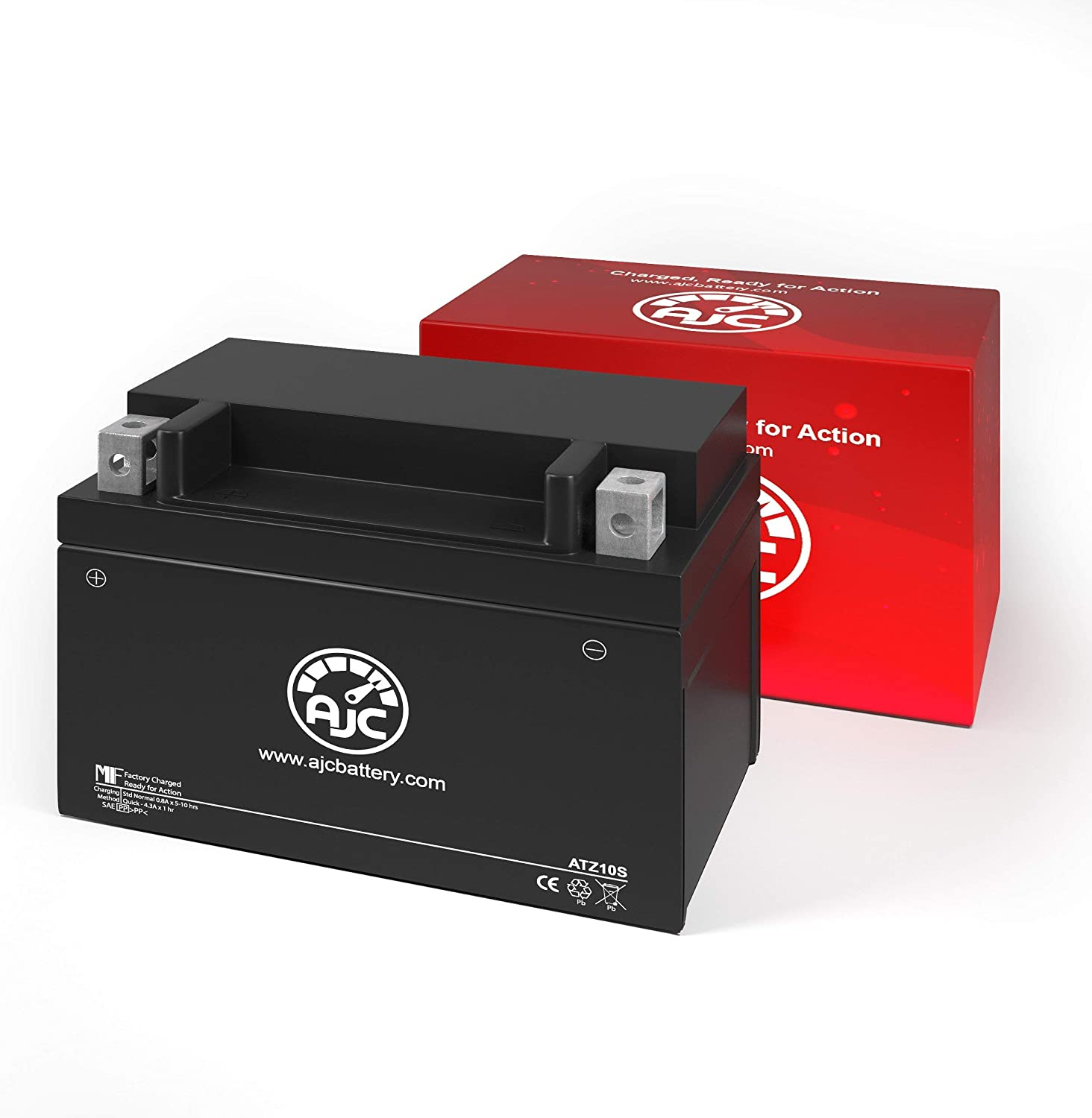 Scorpion YTZ10S Powersports Replacement Battery This is an AJC Brand Replacement