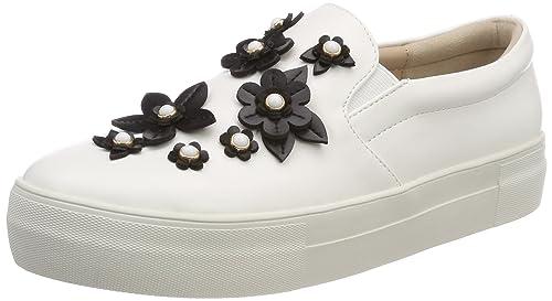 Buffalo 17t01-10 Nappa PU, Zapatillas sin Cordones para Mujer: Amazon.es: Zapatos y complementos