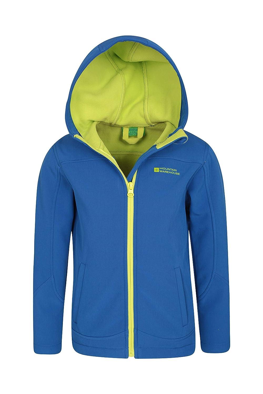 Wind Resistant Shell Mountain Warehouse Exodus Kids Softshell Jacket