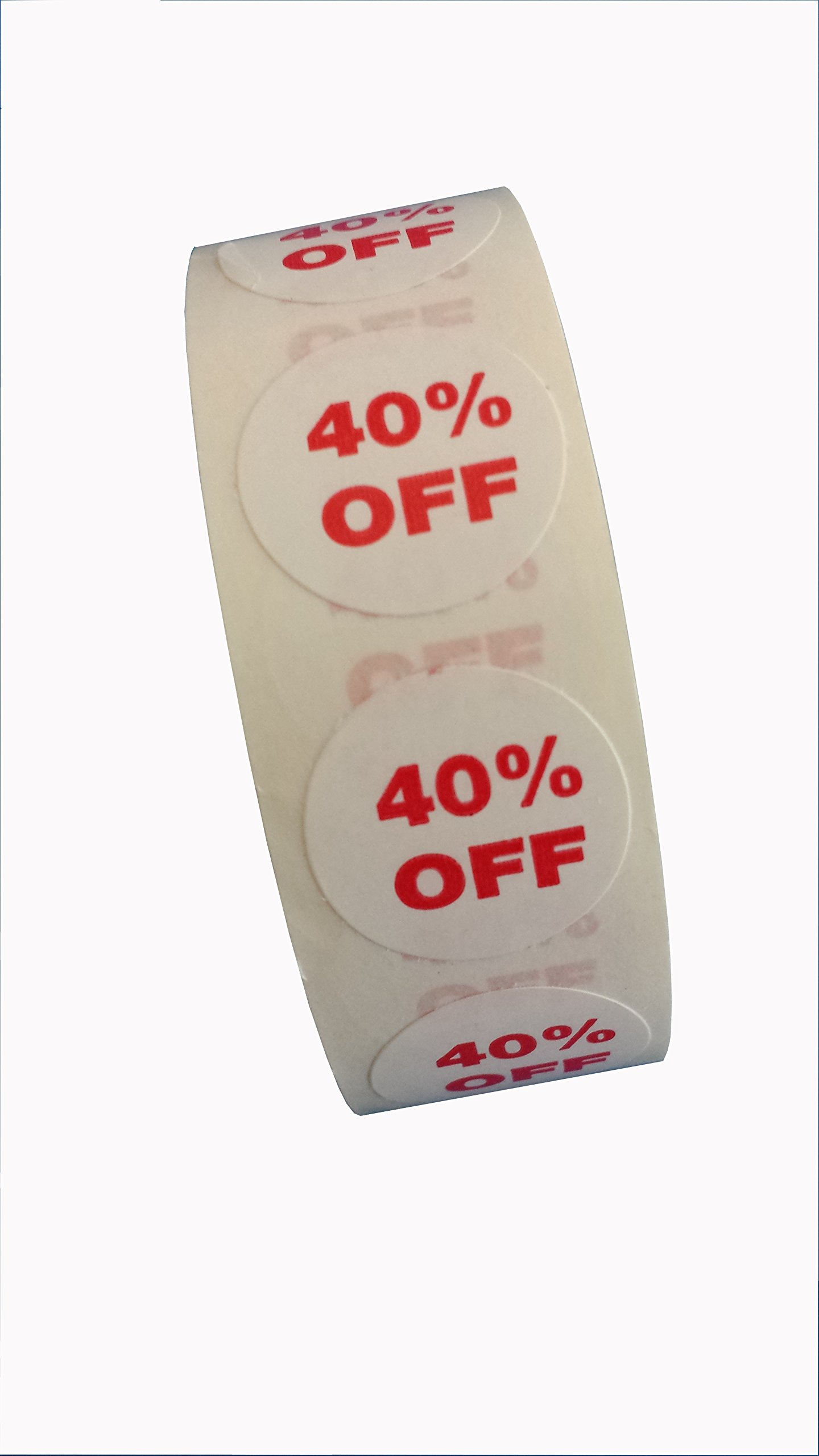 40% Off Dots, 3/4'' Adhesive Labels (1000) for Labeling Sale Items