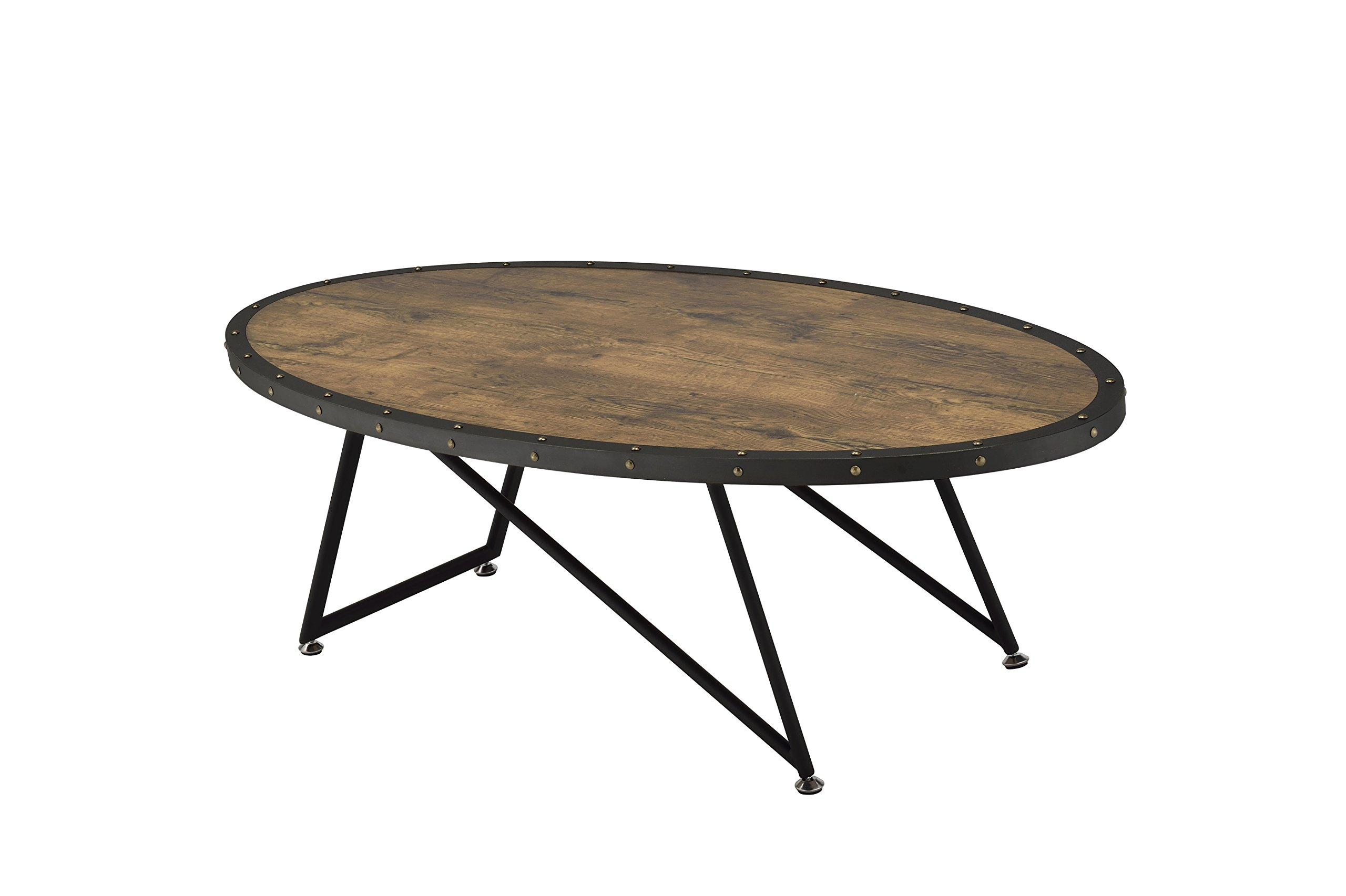 ACME Furniture Acme 81725 Allis Coffee Table, Weathered Dark Oak, One Size