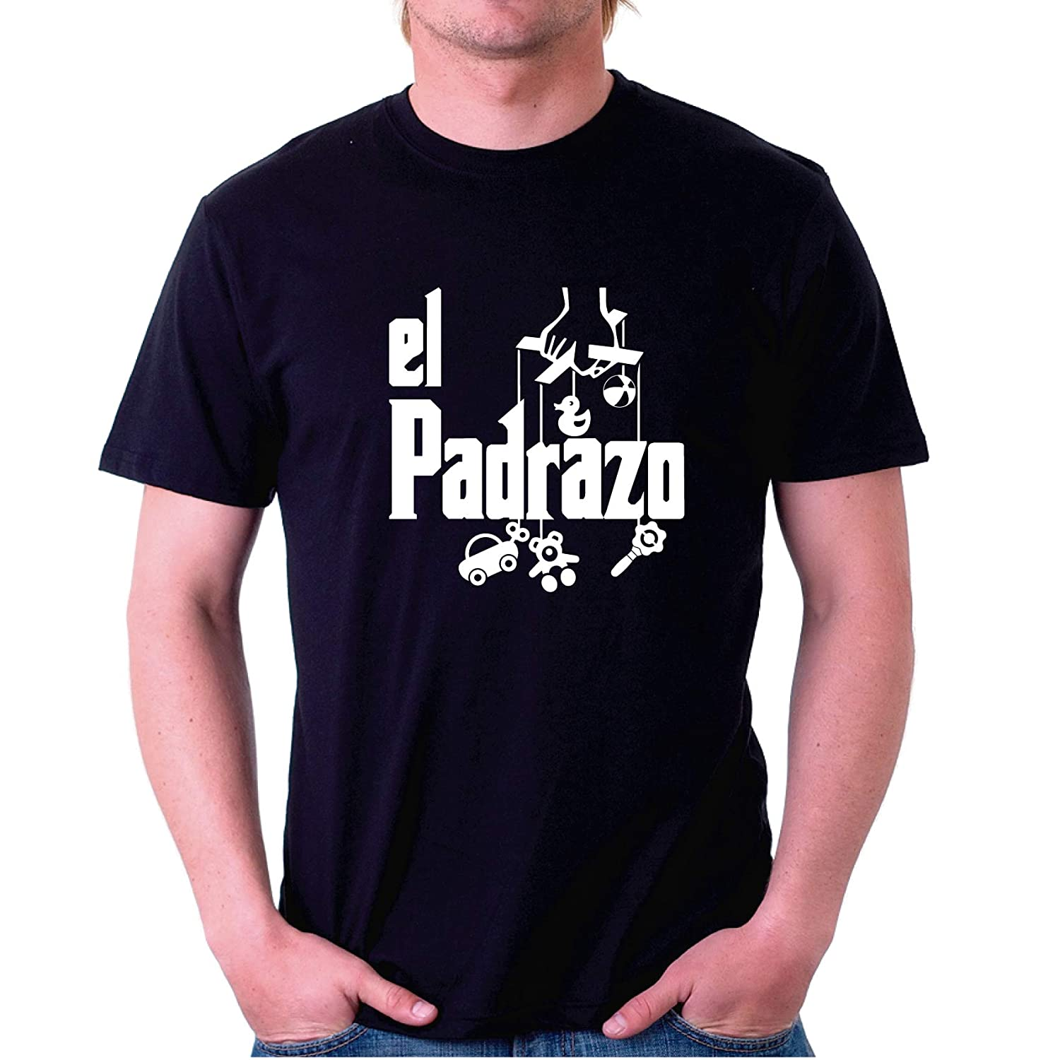 Video, S Custom Vinyl Camiseta Dia del Padre El padrazo