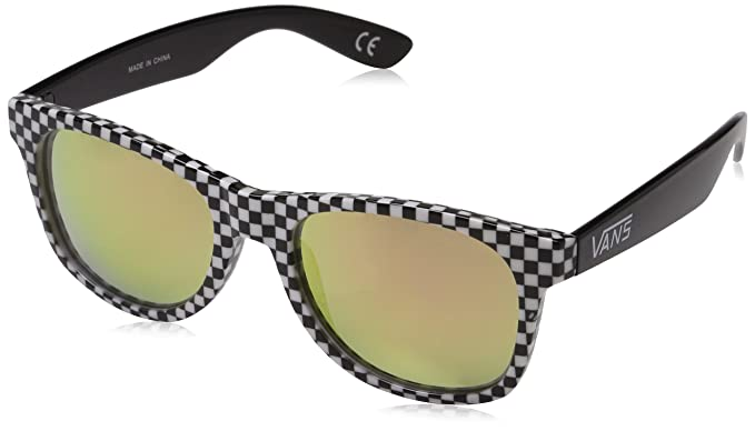 Vans Herren Sonnenbrille Spicoli 4 Shades, Checkerboard-Black-Red, 1
