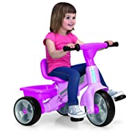 FEBER - Trike Baby Plus Music Triciclo, Color Rosa (Famosa 800009614)