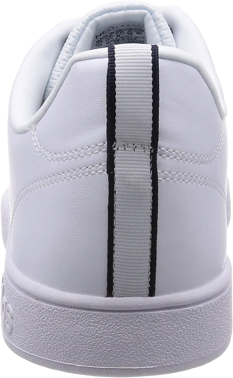 adidas Advantage Clean VS - Zapatillas para Hombre, Color Blanco/Azul Marino, Talla 50: Amazon.es: Zapatos y complementos