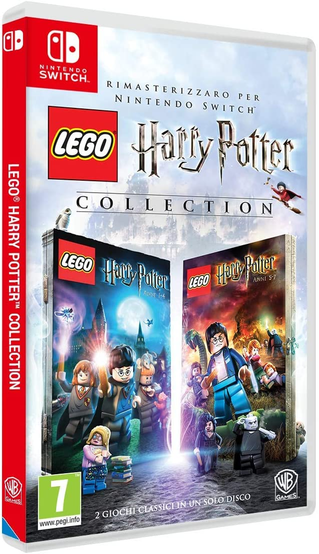Lego Harry Potter Collection 1-7 - Nintendo Switch [Importación italiana]: Amazon.es: Videojuegos