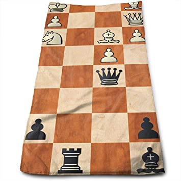 Dutars Toalla Multiusos de Microfibra de ajedrez, Toallas de baño, Toallas de Mano y Toallas de ...