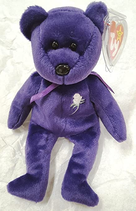 Rare -Princess Diana Ty Beanie Baby Mint Retired  472 PE Pellets 2nd  Generation 0294863c400