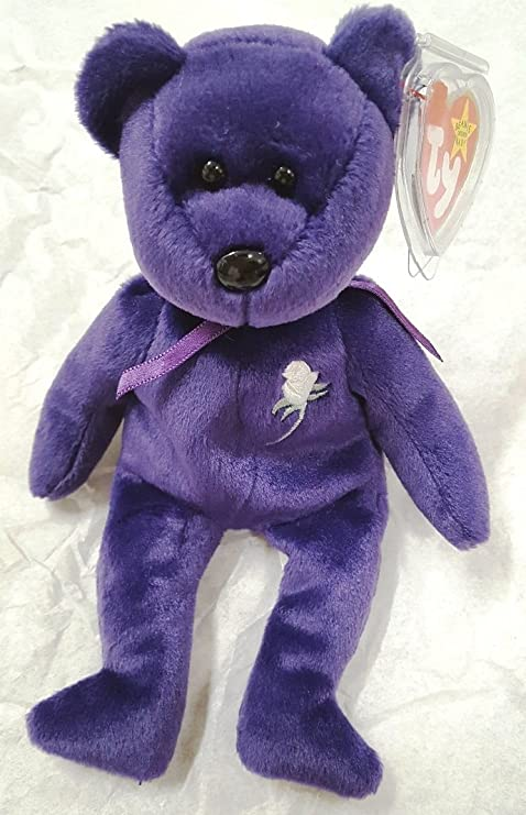 90576bffad8 Rare -Princess Diana Ty Beanie Baby Mint Retired  472 PE Pellets 2nd  Generation