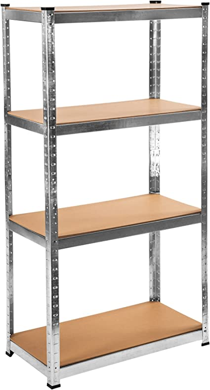 TecTake Estantería de Taller metálica Garaje - Varios Modelos - (con 4 estantes | no. 402170)