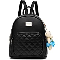 BAG WIZARD Leather Backpack Purse Satchel School Bags Casual Travel Daypacks for Womens