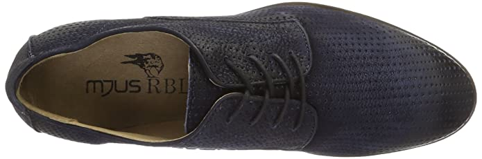 Mjus De Blau Hombre 0102 Derby Para Cordones 361104 Zapatos 6357 avraUT