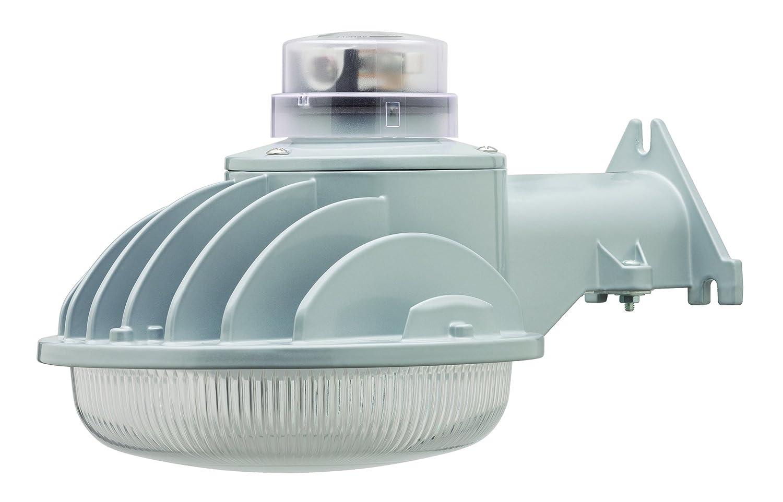 Heath Zenith HZ 5800 AL A Hz 5800 Al Security Light 3000 Lumens 5000 K CRI 80 Wall Mounting Led Lamp 6 1 4 in H Aluminum