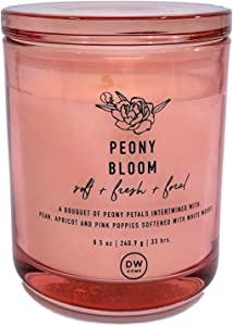 DW Home Peony Bloom Scented Candle
