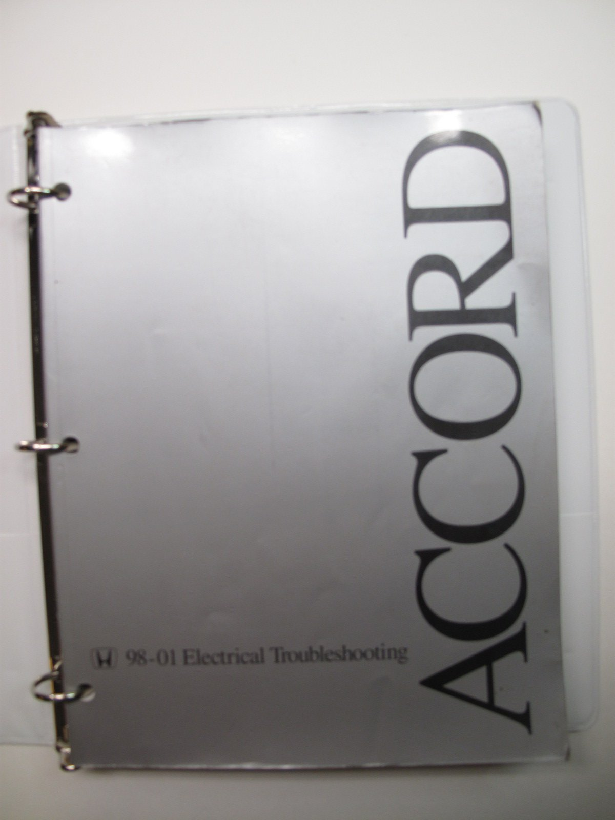 Honda Accord 1998 1999 2000 2001 Electrical Troubleshooting Wiring Service  Manual Paperback