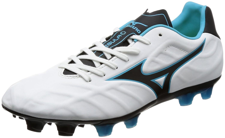 [ミズノ] サッカースパイク レビュラ V2 SL [メンズ] (旧モデル) B071VRZKKC 27.5 cm|ホワイト/ブラック/ライトブルー ホワイト/ブラック/ライトブルー 27.5 cm
