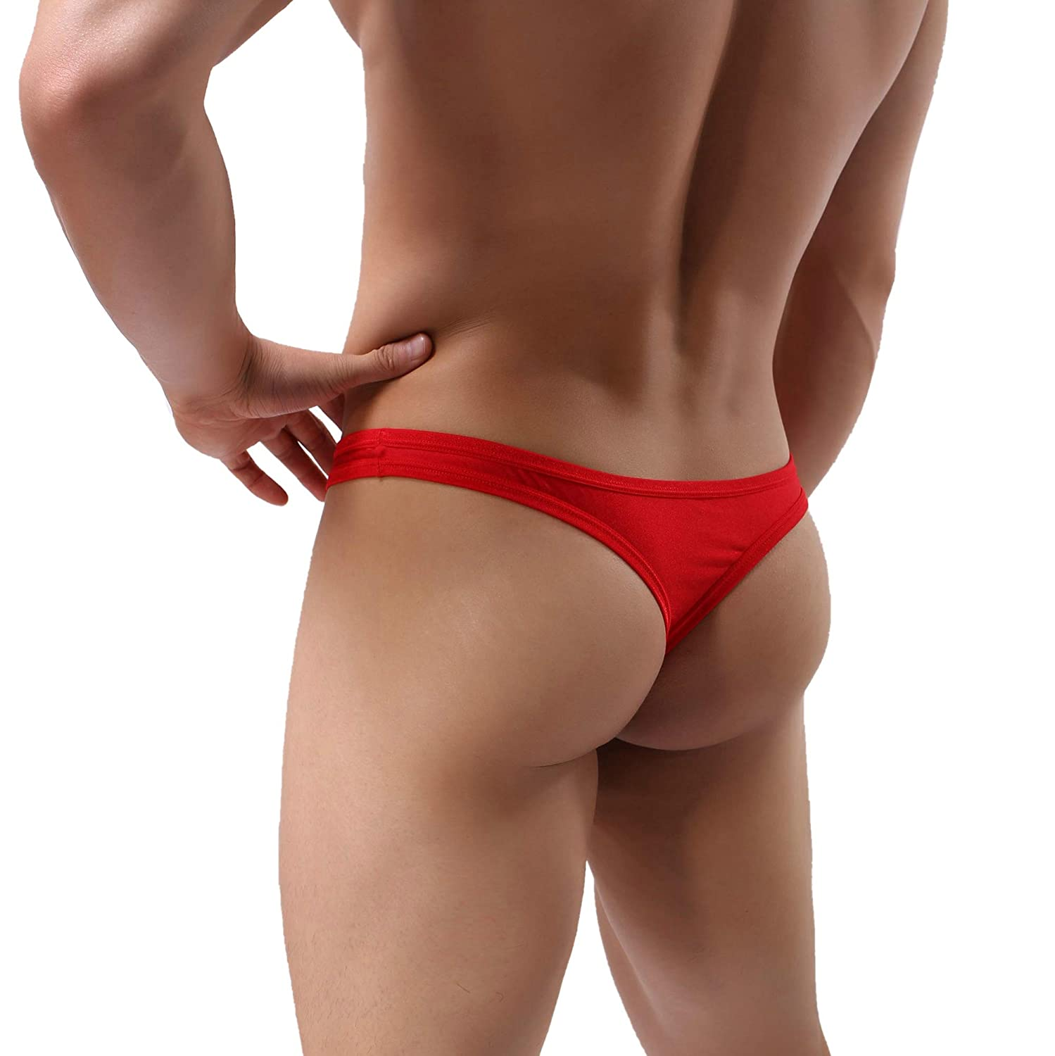 MuscleMate Premium Men's Thong Underwear, No Visible Lines, Men's Thong G-String Underpants